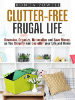 Clutter-Free Frugal Life