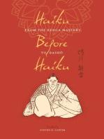 Haiku Before Haiku