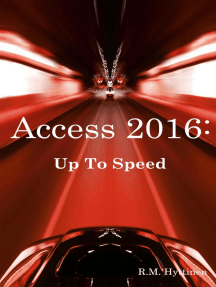 Access 2016: Up To Speed