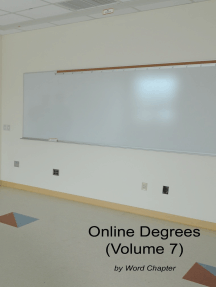 Online Degrees (Volume 7)