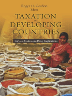 Taxation in Developing Countries: Six Case Studies and Policy Implications