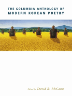 The Columbia Anthology of Modern Korean Poetry