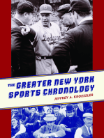 The Greater New York Sports Chronology