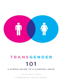 Transgender 101: A Simple Guide to a Complex Issue