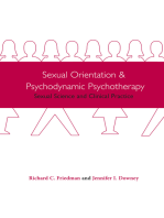 Sexual Orientation and Psychodynamic Psychotherapy