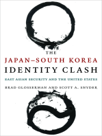 The Japan--South Korea Identity Clash