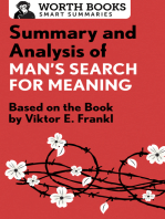 Summary and Analysis of Man's Search for Meaning: Based on the Book by Victor E. Frankl