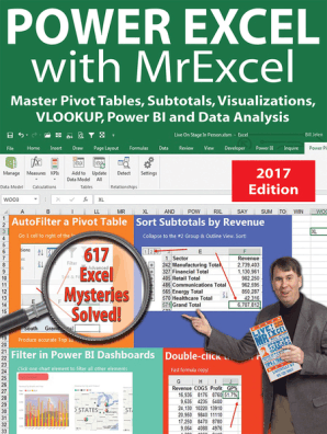 Power Excel 2016 with MrExcel by Bill Jelen - Book - Read Online