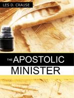 The Apostolic Minister