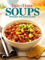 Taste of Home Soups Mini Binder