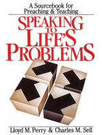 Speaking to Life's Problems