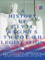 A History of Civil Rights Through Legislation