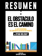 El Obstaculo es el Camino (The Obstacle is The Way)