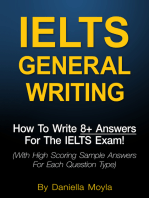IELTS General Writing