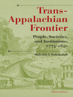 Trans-Appalachian Frontier, Third Edition