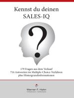 Kennst du deinen Sales-IQ?