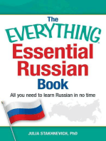 Everything Essential Russian Book