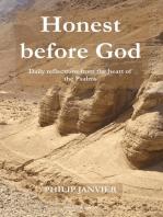 Honest before God