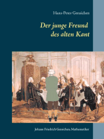 Der junge Freund des alten Kant