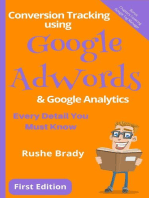 Conversion Tracking using Google AdWords & Google Analytics