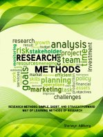 Research Methods: Simple, Short, And Straightforward Way Of Learning Methods Of Research