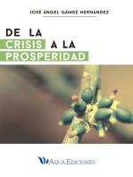 De la crisis a la prosperidad