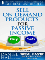 Sell On Demand Products for Passive Income