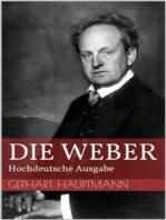 Die Weber - Hochdeutsche Ausgabe