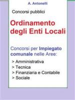 Concorso Impiegato comunale - Ordinamento degli Enti Locali