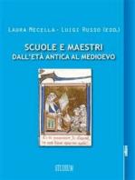 Scuole e maestri dall'età antica al Medioevo