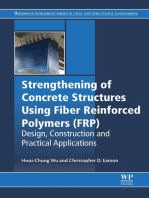 Strengthening of Concrete Structures Using Fiber Reinforced Polymers (FRP): Design, Construction and Practical Applications