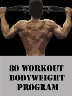 80 Workout Bodyweight Program