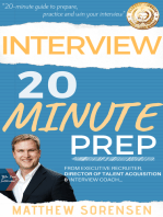 Interview: 20 Minute Prep - Headhunter's Guide to Get the Job Offer