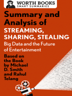 Summary and Analysis of Streaming, Sharing, Stealing