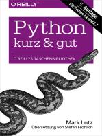 Python kurz & gut