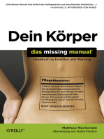 Dein Körper – Das Missing Manual