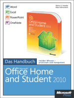 Microsoft Office Home and Student 2010 - Das Handbuch