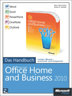 Microsoft Office Home and Business 2010 - Das Handbuch