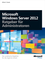 Microsoft Windows Server 2012 - Ratgeber für Administratoren