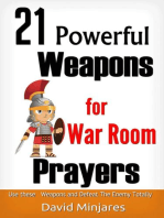 21 Powerful Weapons for War Room Prayers