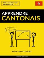Apprendre le cantonais