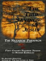 The True Sayings of Jesus