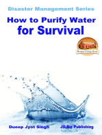 How to Purify Water for Survival