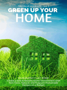 GREEN UP YOUR HOME: Create a Safe & Healthy Home Environment with Non-Toxic, Natural, and Fragrant Homemade Recipes on a Budget: Green up your Life, #3