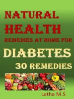 Diabetes 30 Remedies