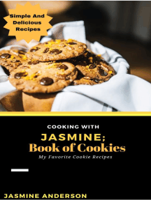 Cooking With Jasmine; Book of Cookies: Cooking With Series, #11