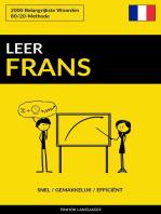 Leer Frans