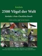 2500 Vögel der Welt