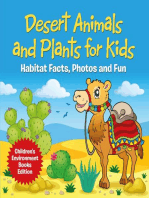 Desert Animals and Plants for Kids
