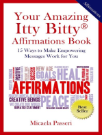 Your Amazing Itty Bitty Affirmations Book